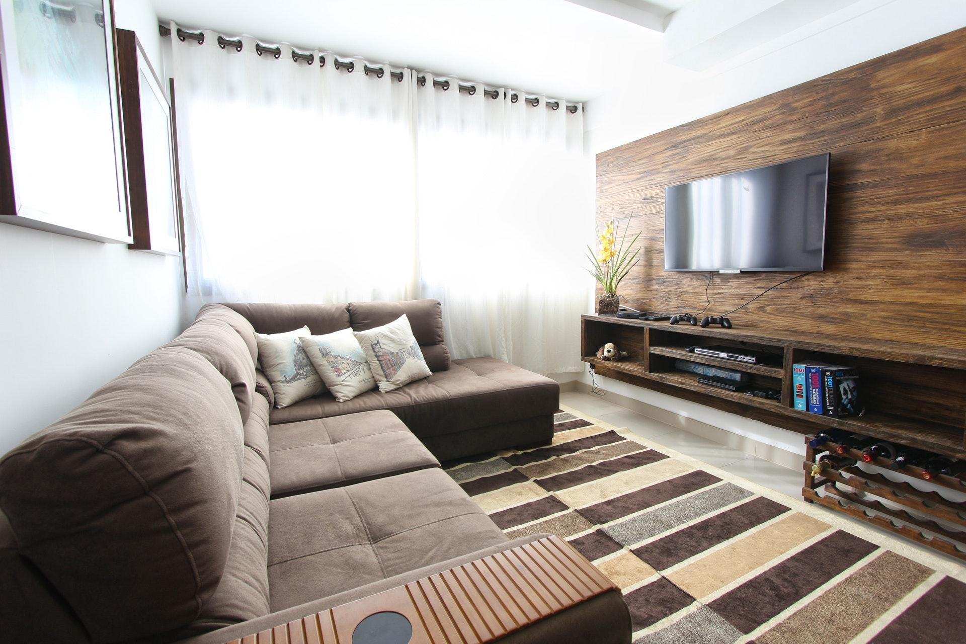 Möbler i ett litet hem